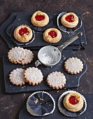 Linzer cookies and Linzer tarts
