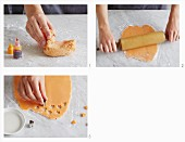 How to make marzipan decorations for cookies