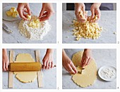 How to make shortcrust pastry biscuits