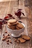 Erdmandel-Cookies mit Kakaonibs
