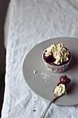 Red Velvet Cupcake (vegan)
