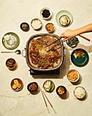 So Bulgogi - Mariniertes Rindfleisch mit Glasnudeln aus Korea