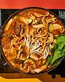 Yachae jeongol - Korean vegetable hotpot