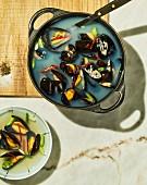 Honghap Tang - Korean mussel soup