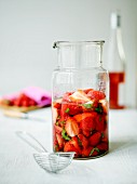 Strawberry and elderberry punch