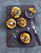 Mushroom cakes