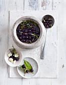 Sloe olives