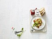 Italian-style scrambled eggs