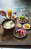Cheese fondue (Switzerland)