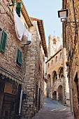 The town centre of Suvereto, Tuscany, Italy
