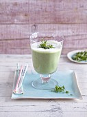 A radish and cucumber drink with buttermilk - 'Radifix'