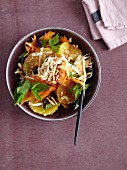 A carrot, parsnip, and orange salad - 'Sexy Bunny'