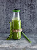 A kale, avocado, and orange smoothie - 'Super Green Hero'