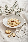 Christmas star anise biscuits
