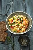 Italian stew with kale