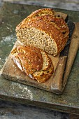 Sprout and seed sourdough