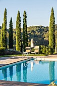 Winery and hotel 'Dievole' in Siena, Tuscany, Italy