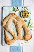 Olive Fougasse