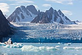 Tidewater glacier, Svalbard