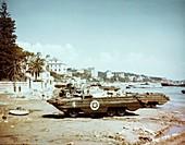 DUKW amphibious vehicle, Italy