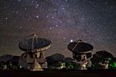 ALMA radio astronomy antennas