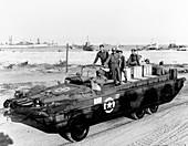 DUKW amphibious vehicle, France