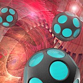 Nanorobots, illustration