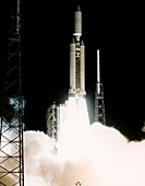 Cassini-Huygens launch, 1997