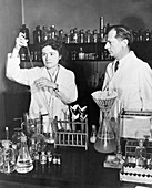 Carl and Gerty Cori, US biochemists