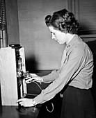 Margaret V. Dunham, US biochemist