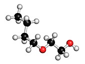 2-butoxyethanol molecule