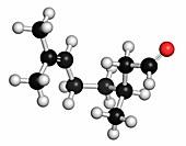 Citronellal citronella oil molecule