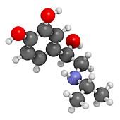 Isoprenaline drug molecule