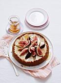 Honey and Garam Masala Cheesecake