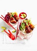 Sticky Thai Chicken with Rice