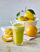 Orange and lemon smoothie