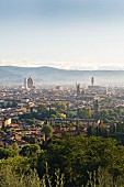 View of Florence from the 'Torre Di Bellosguardo' hotel, Italy