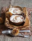 Maronen-Cappuccino