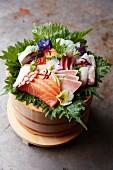 Various sashimi (Japan)