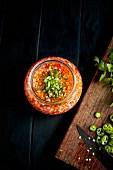 Schnelle Gemüse-Pickles im Einmachglas zubereiten