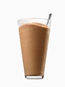 A chocolate mocha milkshake