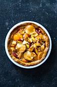A nectarine pie