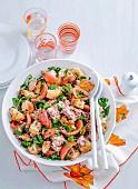 Tuscan Bread Salad with Tuna