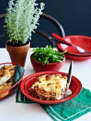 Eggplant and Ricotta Lasagne
