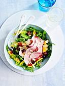 Pork Ham with Mango salad