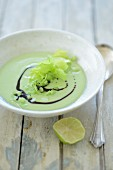 Gazpacho with lime