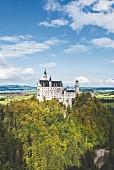 Neuschwanstein Castle in Schwangau, Allgäu, Bavaria