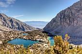 Onion Valley, Sierra Nevada mountain range, USA