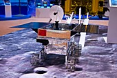 Chinese lunar rover model