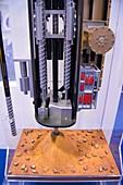 Mars drill model